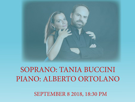The Duo Buccini to perform at Casa Italiana