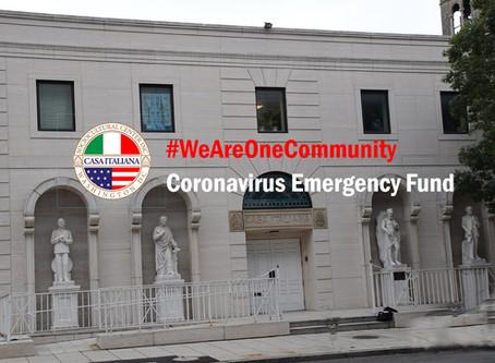 CISC Inc. Launches #WeAreOneCommunity Coronavirus Emergency Fund Campaign