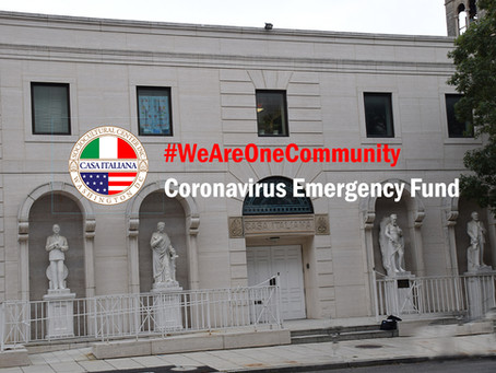 CISC Inc. Launches #WeAreOneCommunity Coronavirus Emergency Fund Campaign