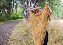 Fly Over Shawl