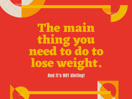 Mindsets and Weight Loss - What's The Big Deal?