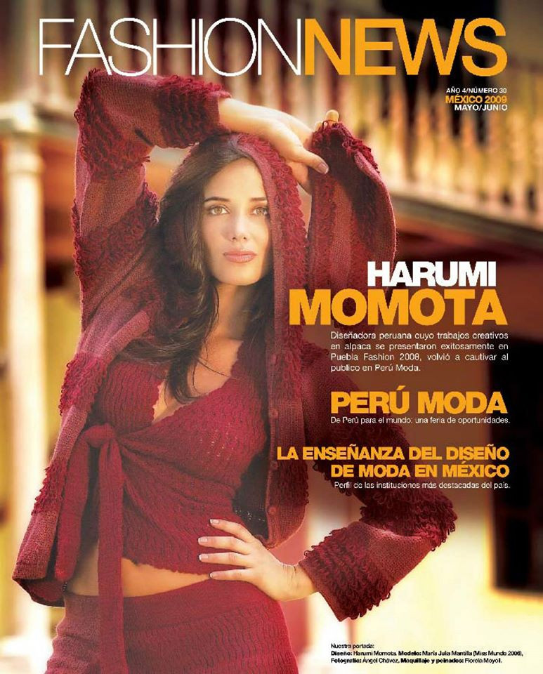 2009 PORTADA FASHION NEWS revista intern