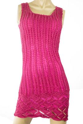 Knit Pink Dress
