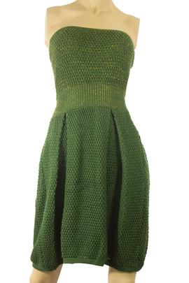 Knit Strapless Dress
