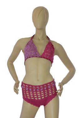 Crochet Lavanda Bikini Set