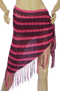 Crochet Bottom Beach Wrap
