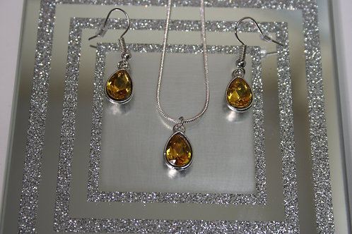 Earring And Pendant Sets