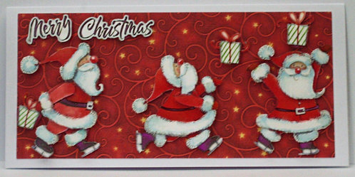 Santa Catching Present