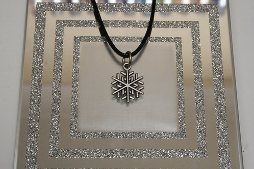 Christmas Snowflake (6) Necklace