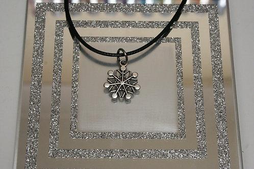 Christmas Snowflake (5) Necklace