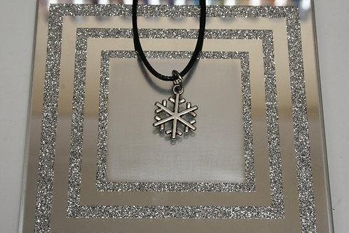 Christmas Snowflake (4) Necklace