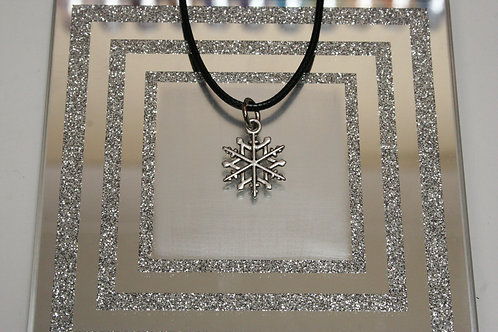 Christmas Snowflake (2) Necklace
