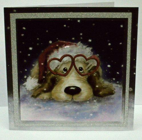 Puppy Love In Snow