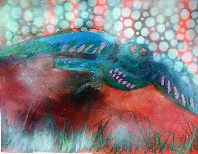 image of artwork by artist Ruth Armitage