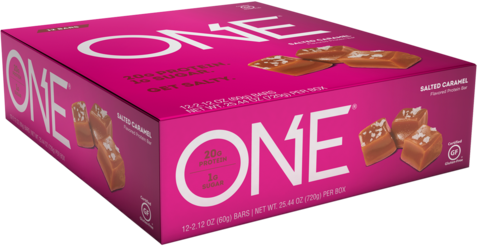 ONE PROTEIN BARS (12 bars)