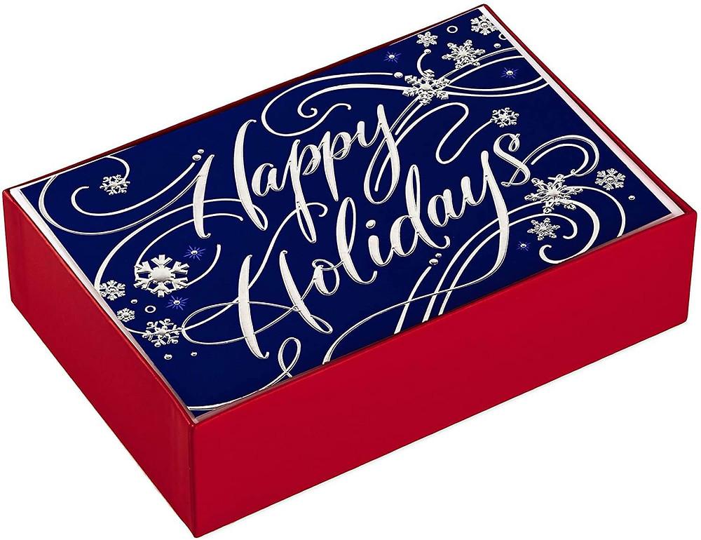 company Christmas cards