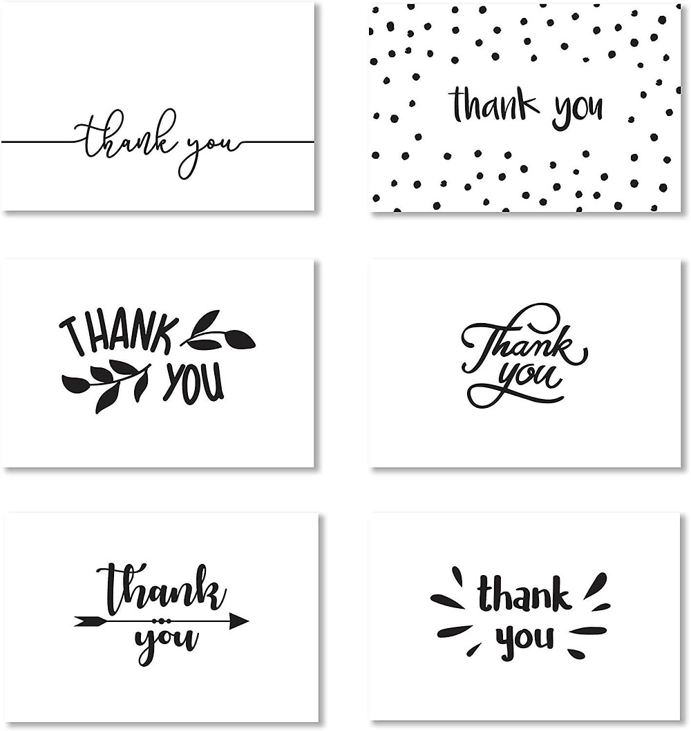 thank you notes for customers examples