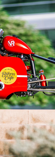 'The Worlds Fastest Indian (Made)  Honda HeroTurbo Pizza Bike.