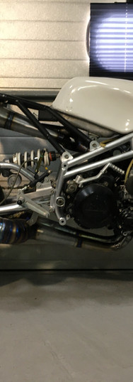 'Suspect Device'  RD500 in a Tigcraft frame