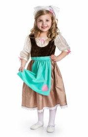 Cinderella Day Dress w/ Scarf