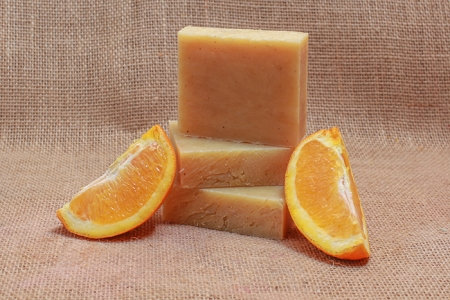 Orange Spice Tea Soap Bar