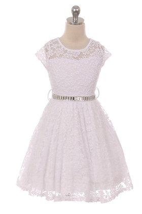 Addison Dress - White