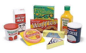 Fridge Food Set - Wooden Play Food