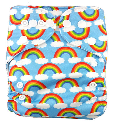 Rainbow Pocket Diaper