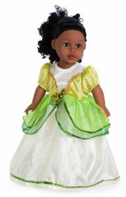 Doll Lily Pad Princess Dress