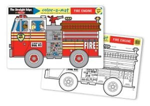 Fire Engine Learning Mat MD 5026