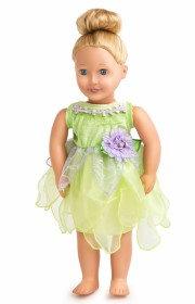 Doll Tinkerbelle Dress