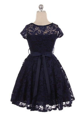 Addison Dress - Navy
