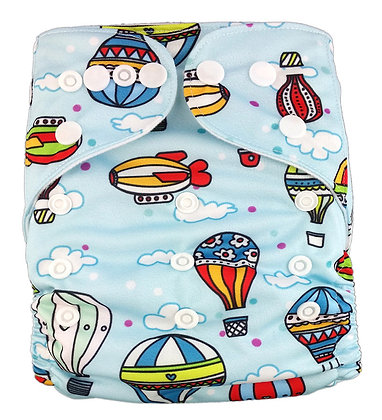Hot Air Balloon Pocket Diaper