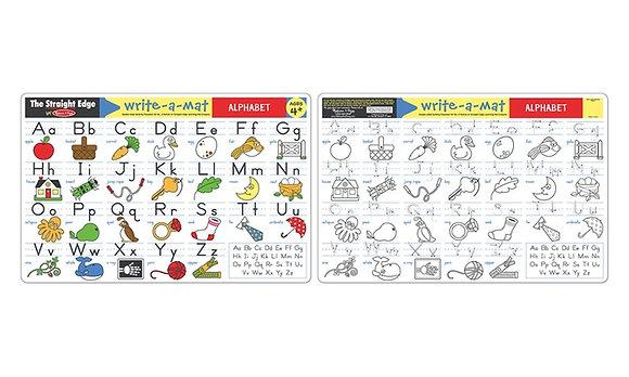 Alphabet Learning Mat MD5028