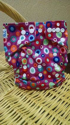 Babyland Purple Bubble Diaper