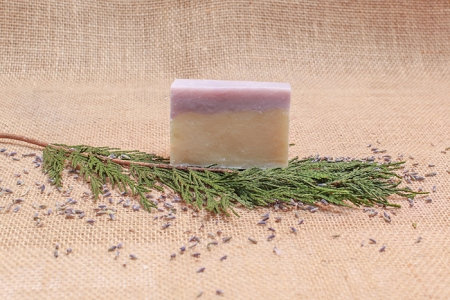 Evergreen And Lavender Soap Bar