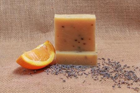 Lavender Orange Soap Bar