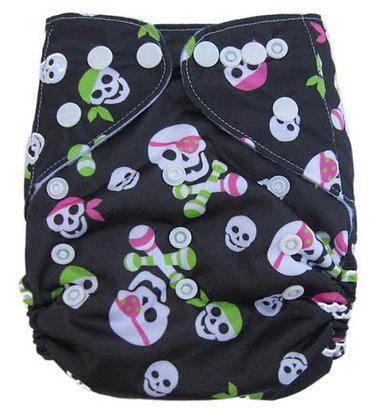Lady Pirate Pocket Diaper