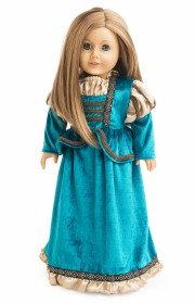 Doll Scottish Princess Dress