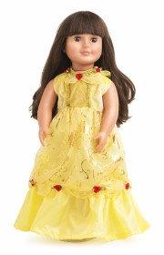 Doll Yellow Beauty Dress