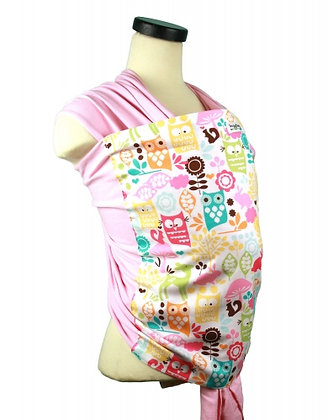 Woodland Owls Baby Wrap