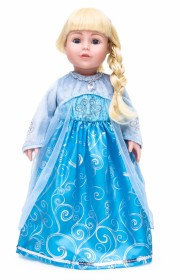 Doll Dress Ice Princess