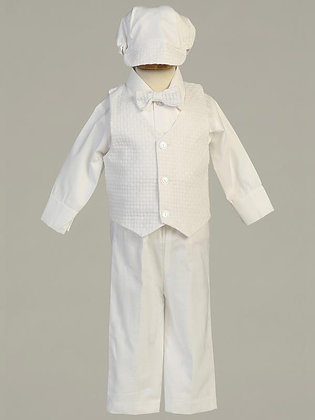Nathan Christening  or Blessing Outfit