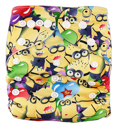Minion Pocket Diaper