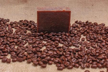 Fresh Brewed Coffee Goat Milk Soap Bar