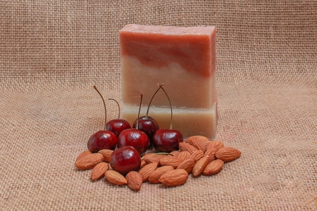 Cherry Almond Soap Bar