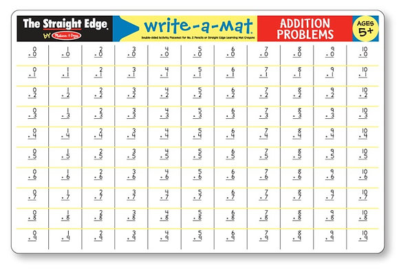 Addition Learning Mat MD5031