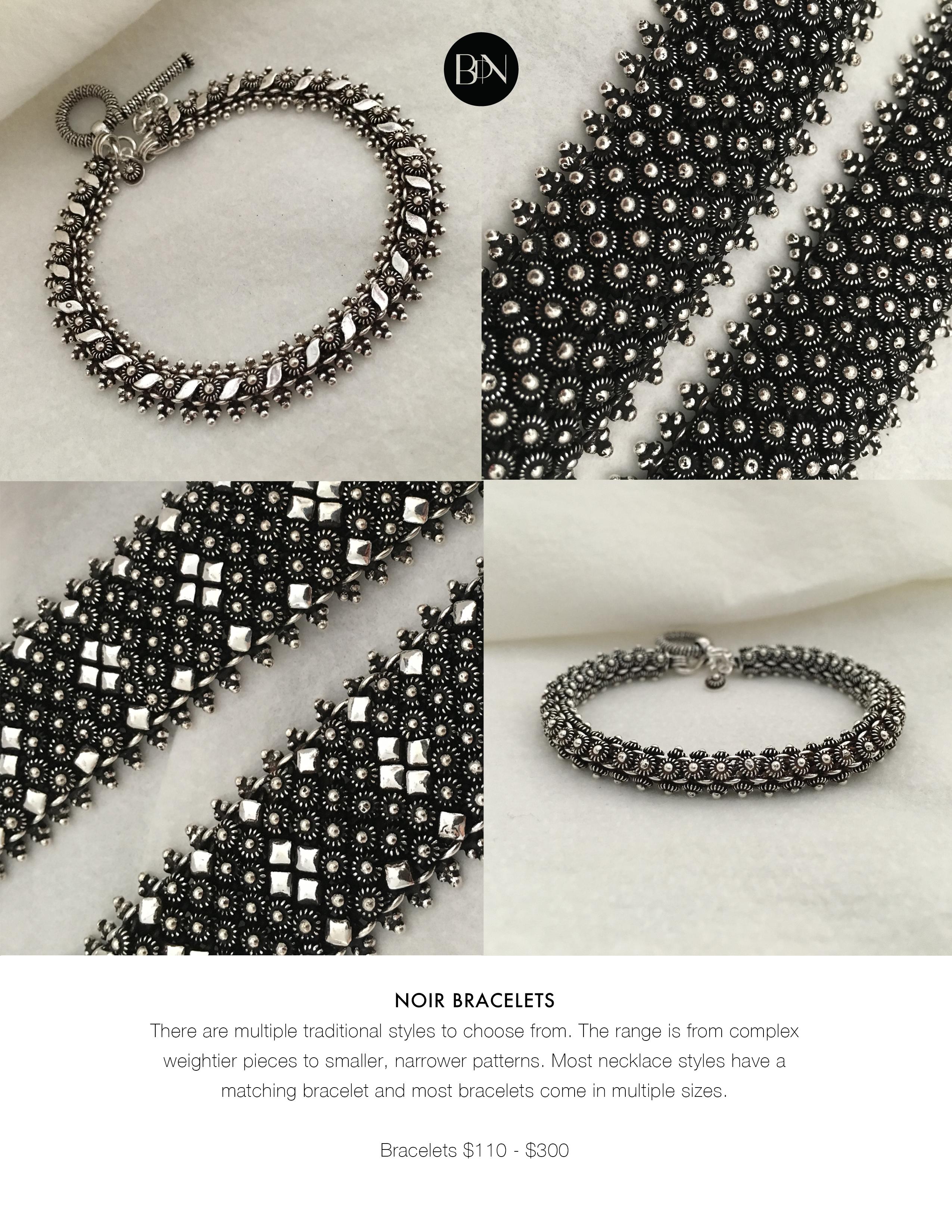 The Noir Collection - Bracelets I