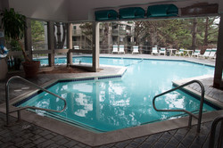 Interior Entrance to Heated Pool