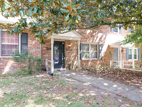 New Listing Alert:  Investors this 3 bd brick townhome in North Chesterfield listed at $148,000